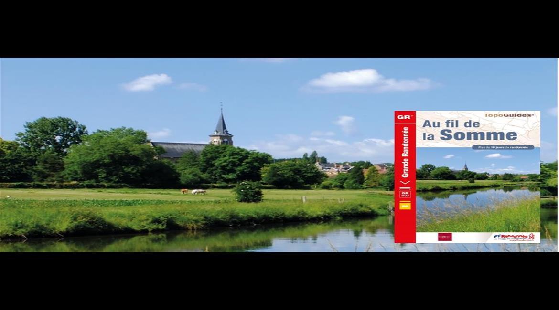 SOMME : Marcher « Au fil de la Somme » avec le GR® 800