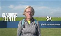 Claudine Feinte, animatrice de randonnée dans les Hauts de France
